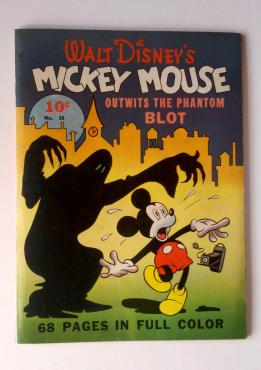 Four Color 16 Mickey Mouse The Phantom Blot