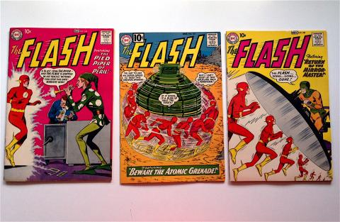 The Flash 106, 122 and 109