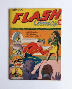 Flash Comics #1, 1940