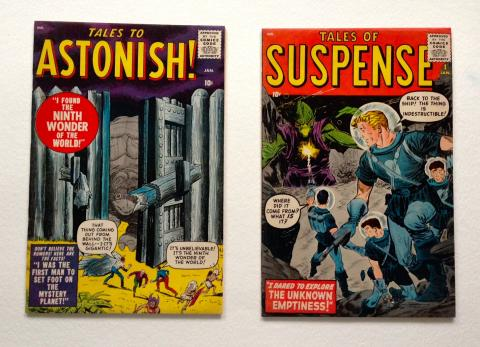 Tales of Suspense #1 and Tales To Astonish #1, 1959