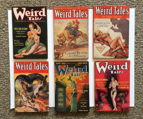 Weird Tales, 6 Issues