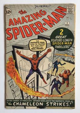 Amazing Spiderman #1