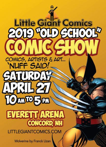 Image: 'OLD SCHOOL' Comic Show